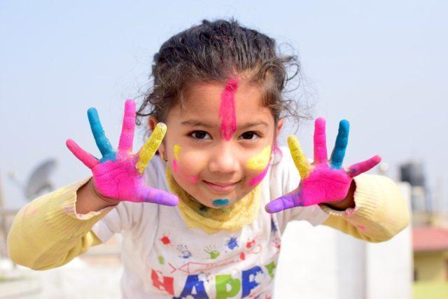 Un enfant créatif